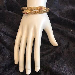 Stella & dot Cobra Snake Coil Bracelet